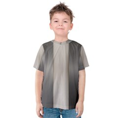 Wall Steel Ivory Creative Texture Kids  Cotton Tee