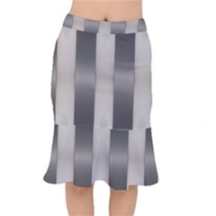 Wall Steel Ivory Creative Texture Mermaid Skirt