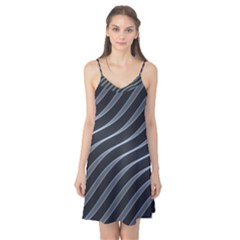 Metal Steel Stripped Creative Camis Nightgown