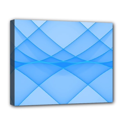 Background Light Glow Blue Deluxe Canvas 20  X 16