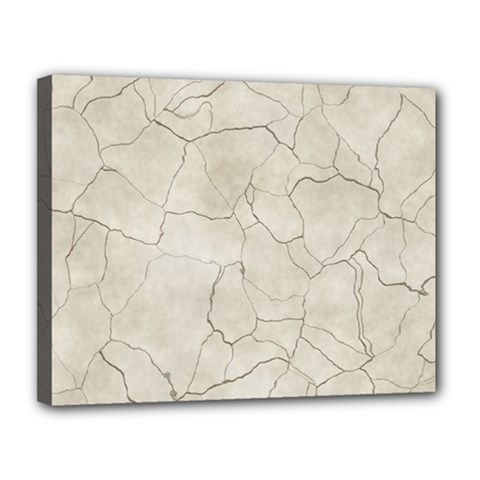 Background Wall Marble Cracks Canvas 14  X 11