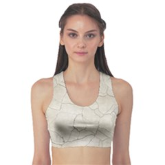 Background Wall Marble Cracks Sports Bra