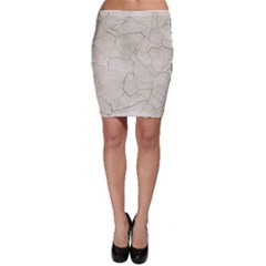 Background Wall Marble Cracks Bodycon Skirt
