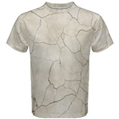 Background Wall Marble Cracks Men s Cotton Tee