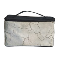 Background Wall Marble Cracks Cosmetic Storage Case
