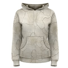 Background Wall Marble Cracks Women s Pullover Hoodie
