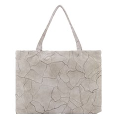 Background Wall Marble Cracks Medium Tote Bag