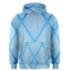 Background Light Glow Blue Men s Pullover Hoodie