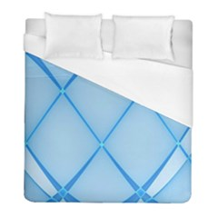Background Light Glow Blue Duvet Cover (full/ Double Size)