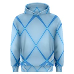 Background Light Glow Blue Men s Overhead Hoodie