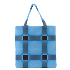 Wall Blue Steel Light Creative Grocery Tote Bag