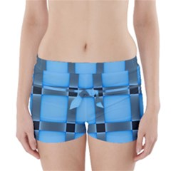 Wall Blue Steel Light Creative Boyleg Bikini Wrap Bottoms