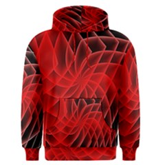 Abstract Red Art Background Digital Men s Pullover Hoodie