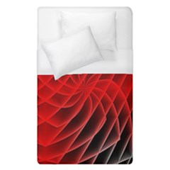Abstract Red Art Background Digital Duvet Cover (single Size)