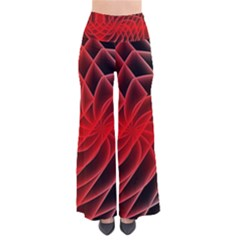 Abstract Red Art Background Digital Pants