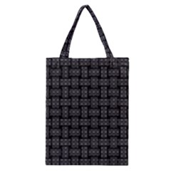 Background Weaving Black Metal Classic Tote Bag
