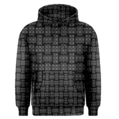 Background Weaving Black Metal Men s Pullover Hoodie