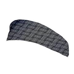 Background Weaving Black Metal Stretchable Headband