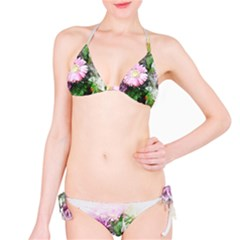 Flowers Roses Bouquet Art Nature Bikini Set