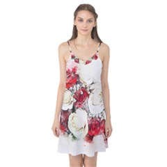 Flowers Roses Bouquet Art Nature Camis Nightgown