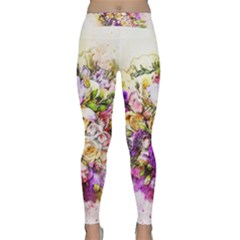 Flowers Bouquet Art Nature Classic Yoga Leggings