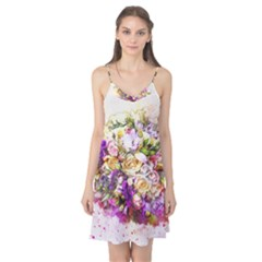 Flowers Bouquet Art Nature Camis Nightgown