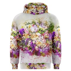 Flowers Bouquet Art Nature Men s Overhead Hoodie