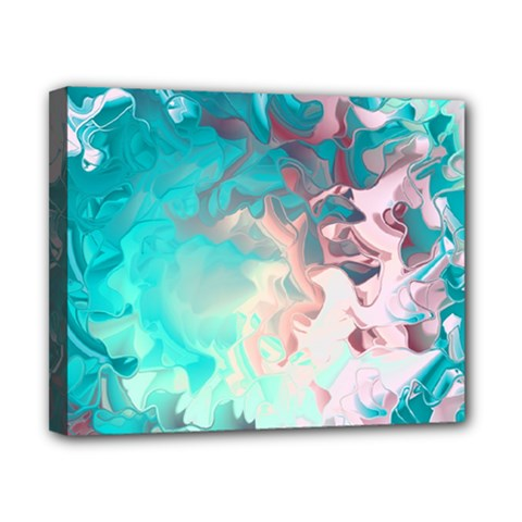 Background Art Abstract Watercolor Canvas 10  X 8