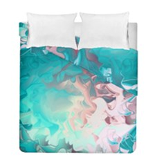 Background Art Abstract Watercolor Duvet Cover Double Side (full/ Double Size)