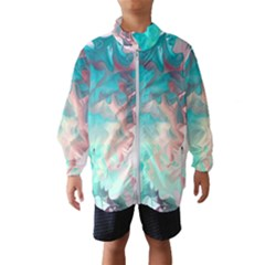 Background Art Abstract Watercolor Wind Breaker (kids)