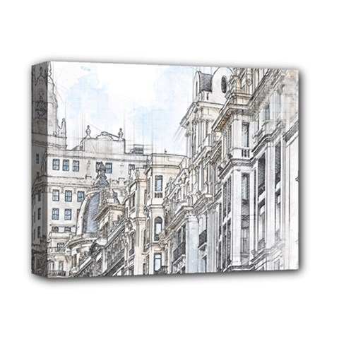 Architecture Building Design Deluxe Canvas 14  X 11