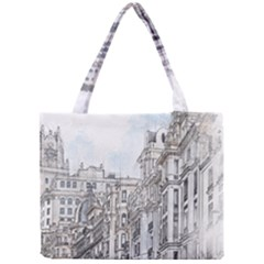Architecture Building Design Mini Tote Bag