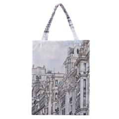 Architecture Building Design Classic Tote Bag