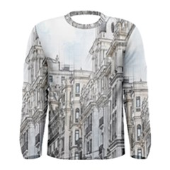 Architecture Building Design Men s Long Sleeve Tee