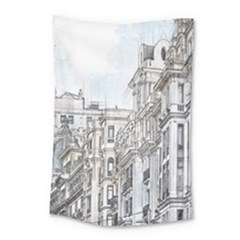 Architecture Building Design Small Tapestry