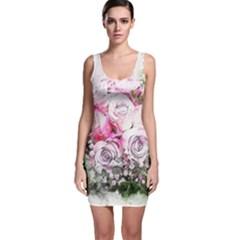 Flowers Bouquet Art Nature Bodycon Dress