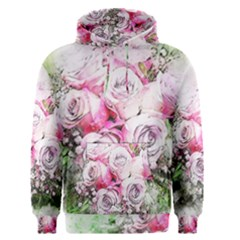 Flowers Bouquet Art Nature Men s Pullover Hoodie