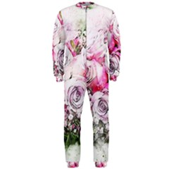 Flowers Bouquet Art Nature Onepiece Jumpsuit (men)