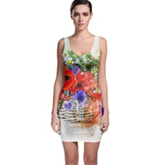 Flowers Bouquet Art Nature Bodycon Dress