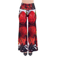 Strawberry Fruit Food Art Abstract Pants by Nexatart