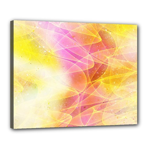 Background Art Abstract Watercolor Canvas 20  X 16  by Nexatart