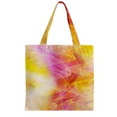 Background Art Abstract Watercolor Grocery Tote Bag