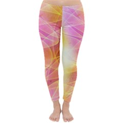 Background Art Abstract Watercolor Classic Winter Leggings
