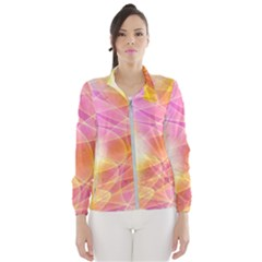 Background Art Abstract Watercolor Wind Breaker (women)