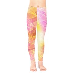 Background Art Abstract Watercolor Kids  Legging