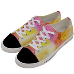 Background Art Abstract Watercolor Women s Low Top Canvas Sneakers by Nexatart