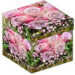 Flowers Bouquet Wedding Art Nature Storage Stool 12   by Nexatart