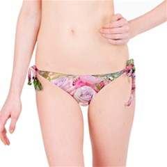 Flowers Bouquet Wedding Art Nature Bikini Bottom