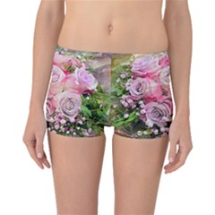 Flowers Bouquet Wedding Art Nature Boyleg Bikini Bottoms