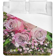 Flowers Bouquet Wedding Art Nature Duvet Cover (king Size)